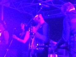 Joel Gion of The Brian Jonestown Massacre, joins the Dead Skeletons on tambourine.